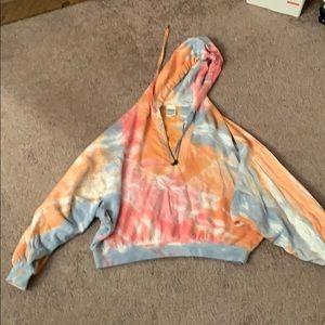 Victoria's Secret tie-dye hoodie